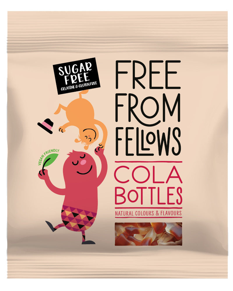 Free From Fellows Sugar Free Cola Bottles (vegan and vegetarian)