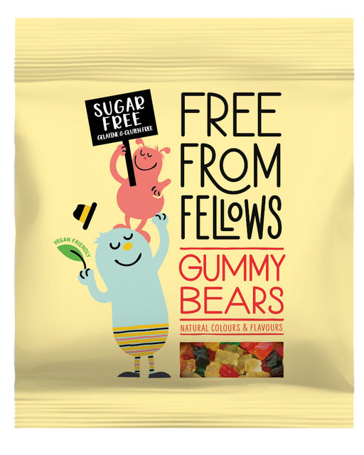 Free From Fellows Sugar Free Gummy Bears (vegan and vegetarian)