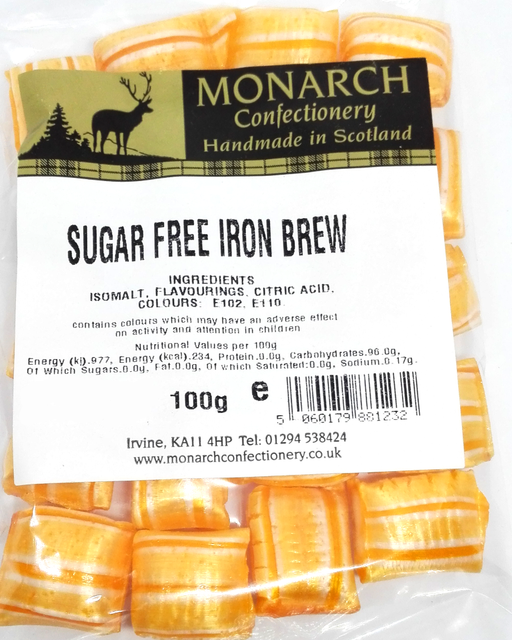 Monarch Sugar free Iron brew