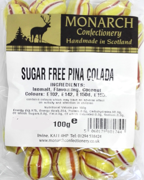 Monarch Sugar Free Pina Colada