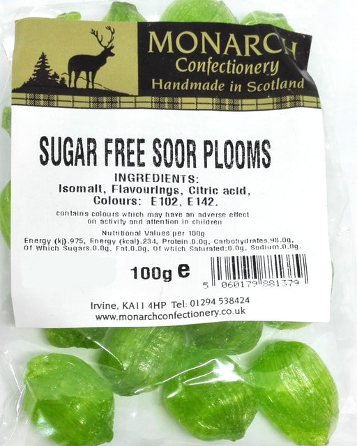 Monarch Sugar Free Soor Plooms