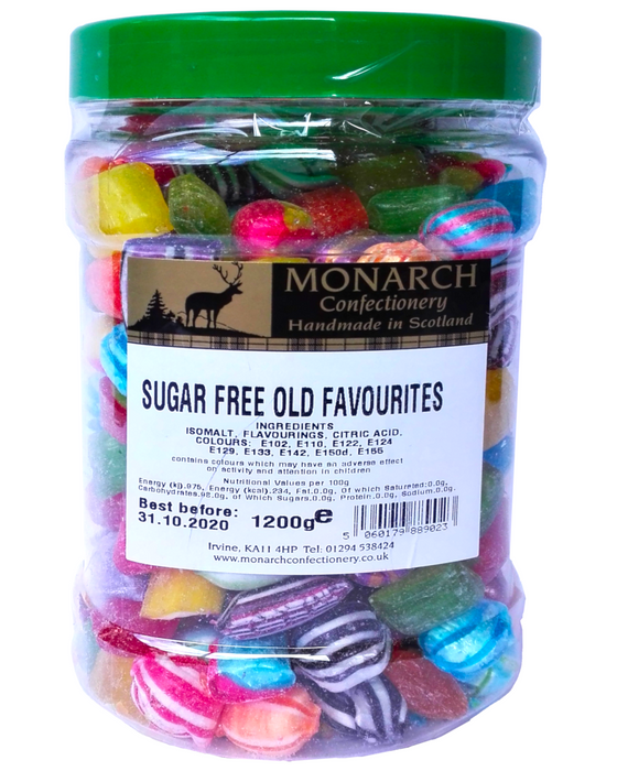 Monarch Sugar Free Old Favourites