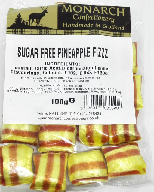 Monarch Sugar Free Pineapple Fizz