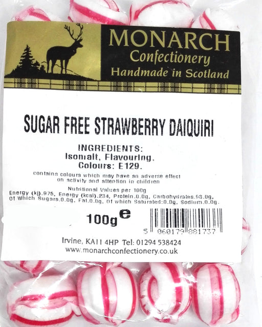 Monarch Sugar Free Strawberry Daiquiri