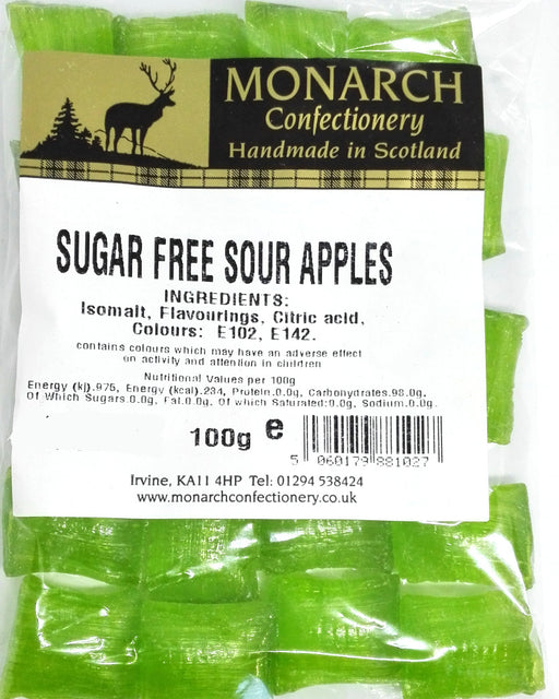 Monarch Sugar Free Sour Apple