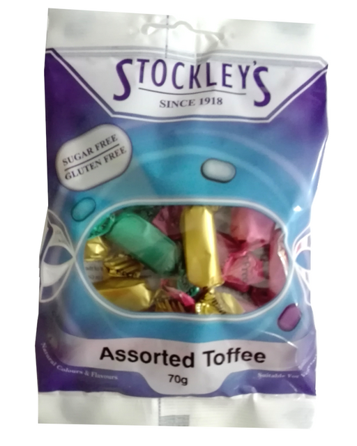 Stockley's No added sugar Assorted Toffee Chews