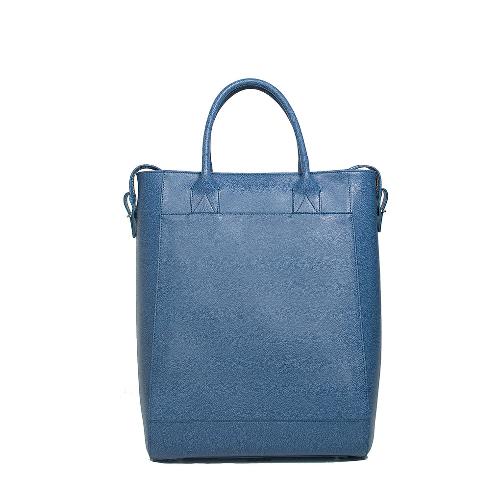 #06 Jeans blue large tote