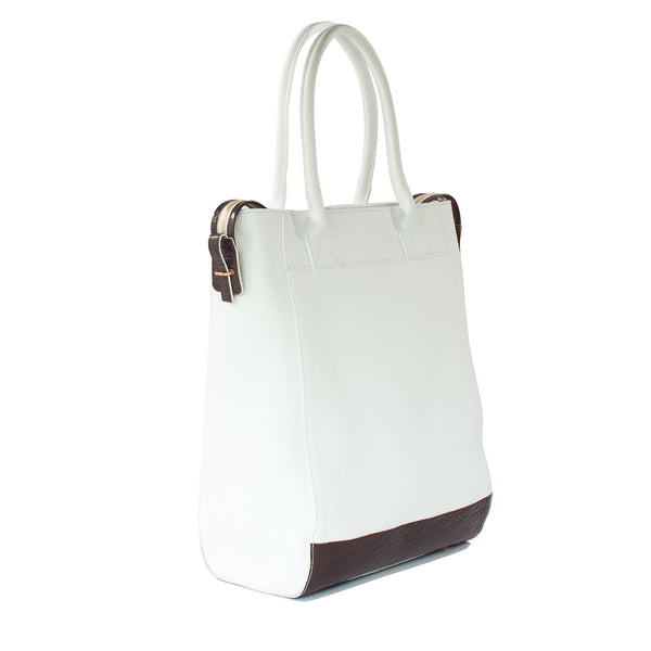 SAMPLE #06 Bright white large tote