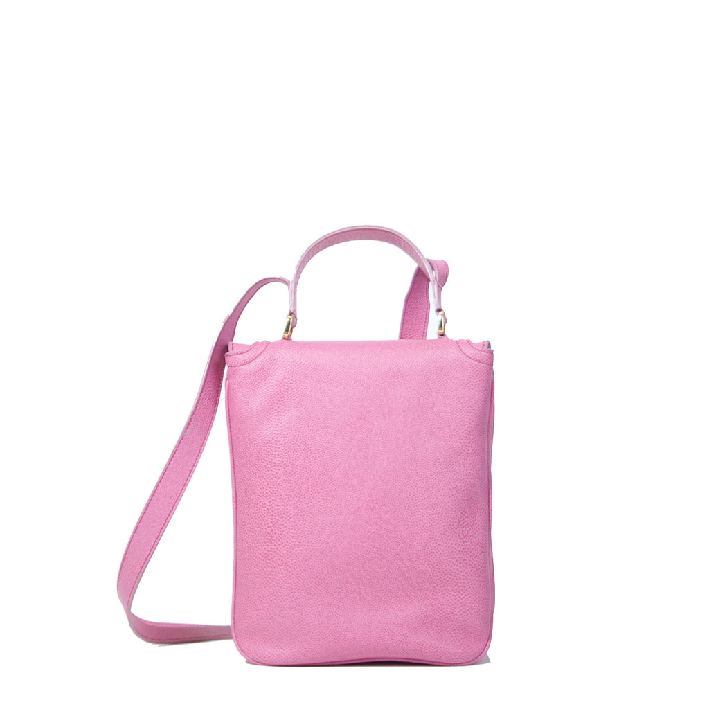 #09 Pink small iPad hand & shoulder bag