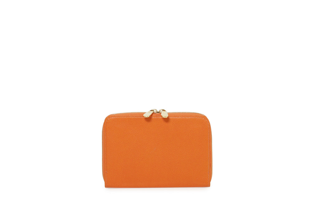 SAMPLE #11 Bright orange large wallet
