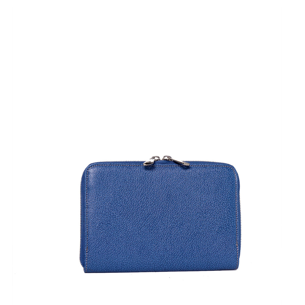 #11 Denim blue large wallet