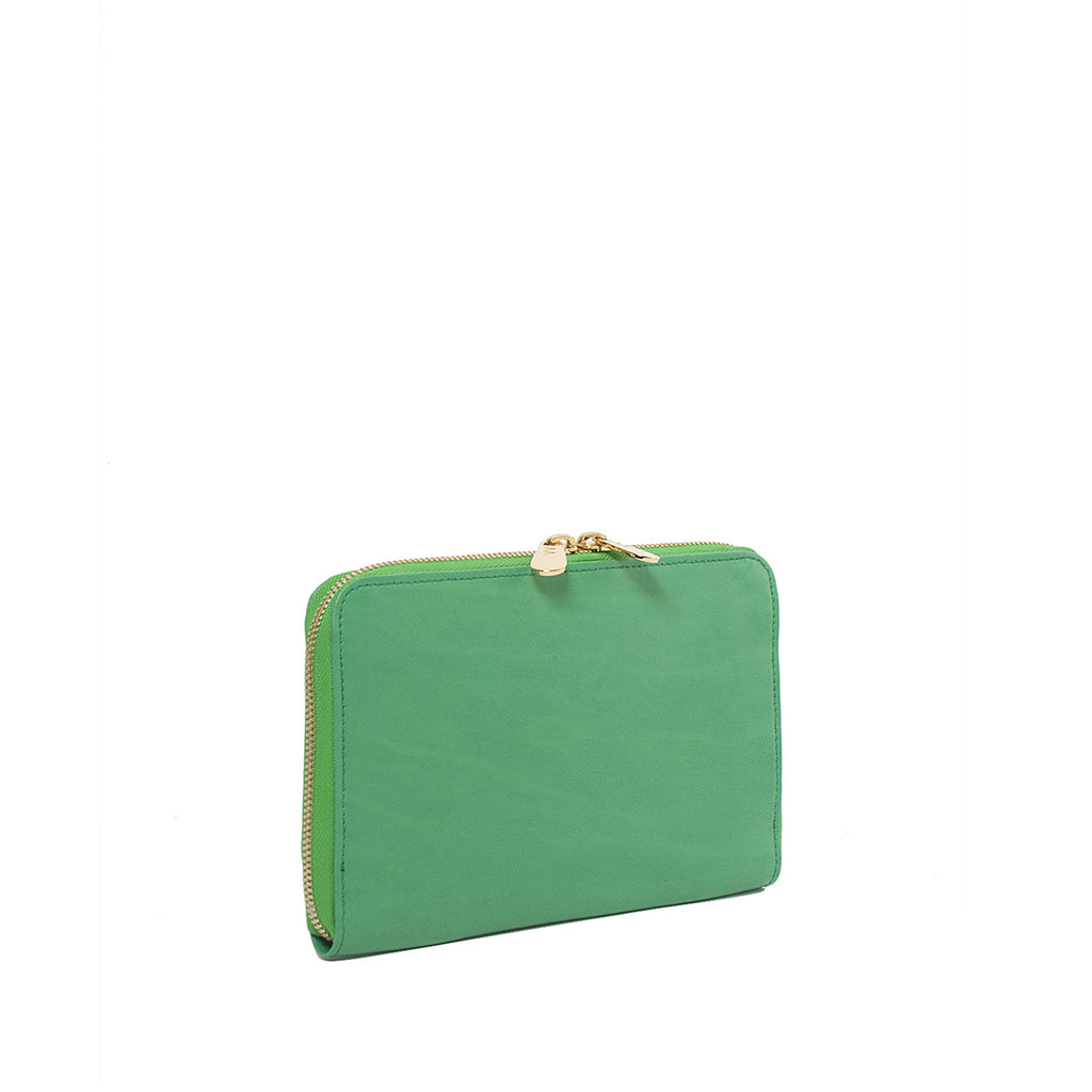 SAMPLE #11 Green large wallet