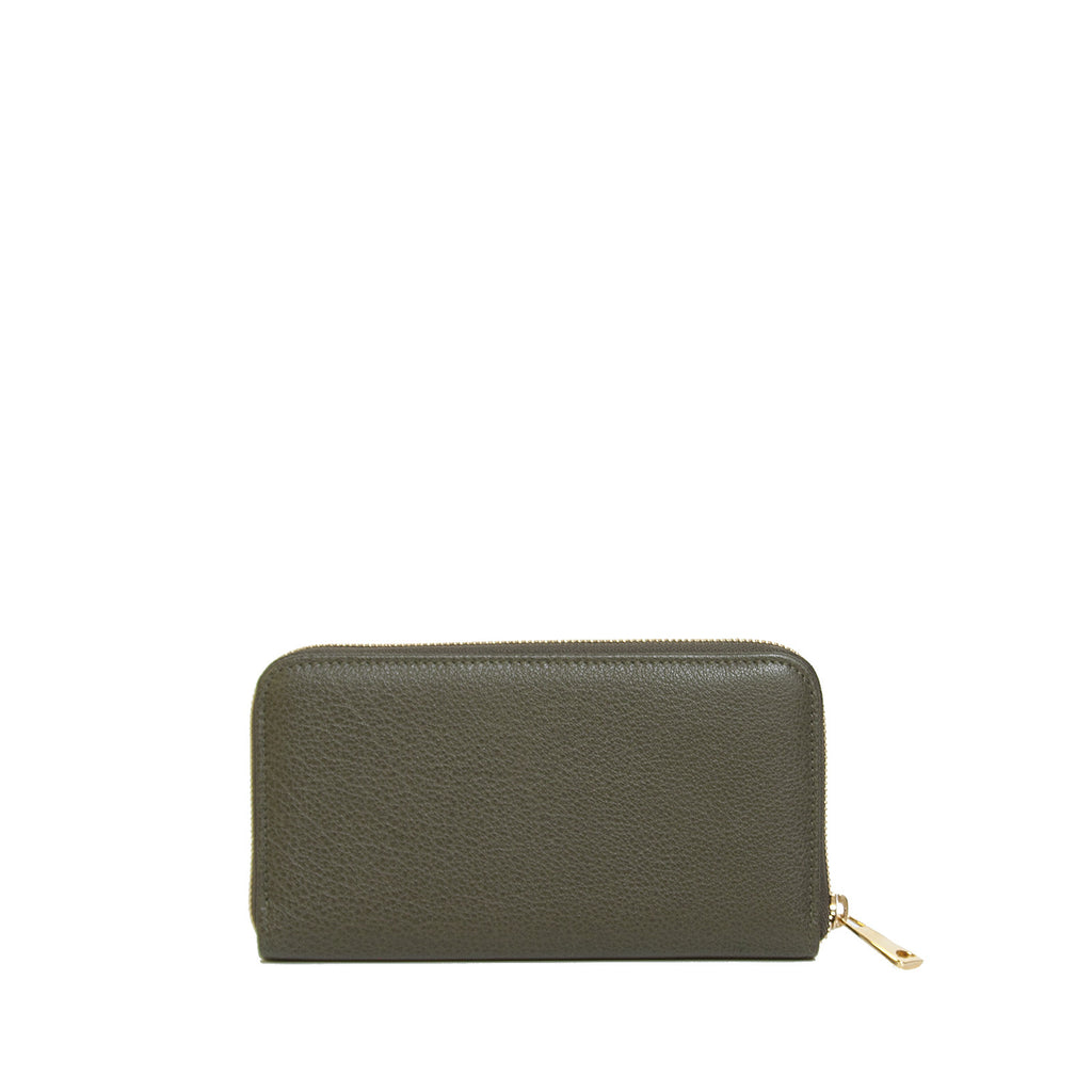 #24 Army green long wallet
