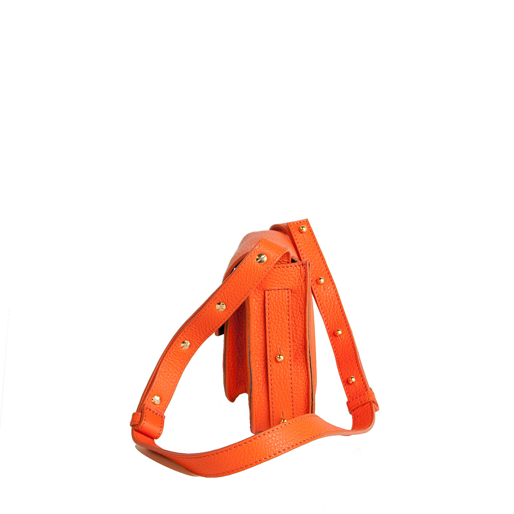 #33 Orange mini shoulder bag