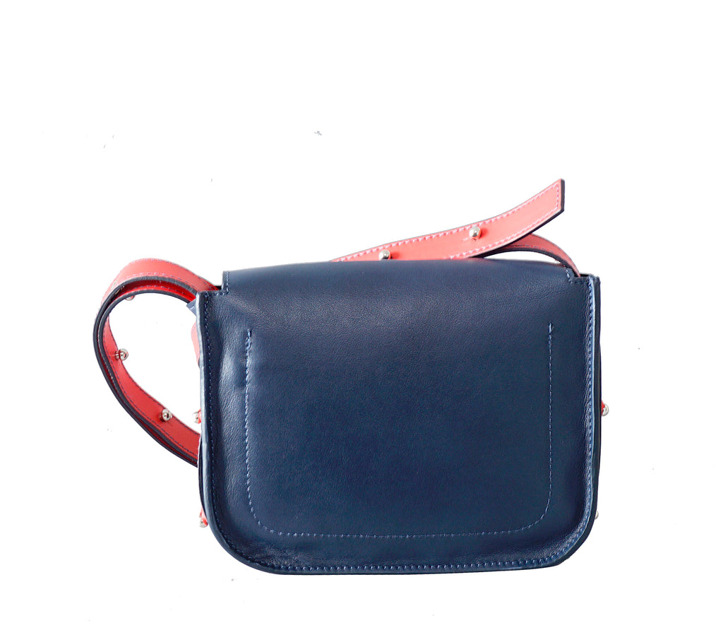 #33 Colour block mini shoulder bag