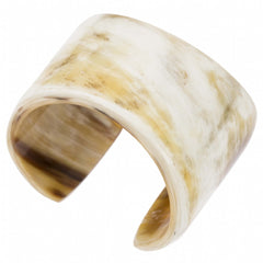 Buffalo Horn Tapered Cuff
