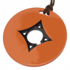 Poppy Circle Pendant Horn Center