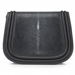 HAZEL- Saddle Bag, Black