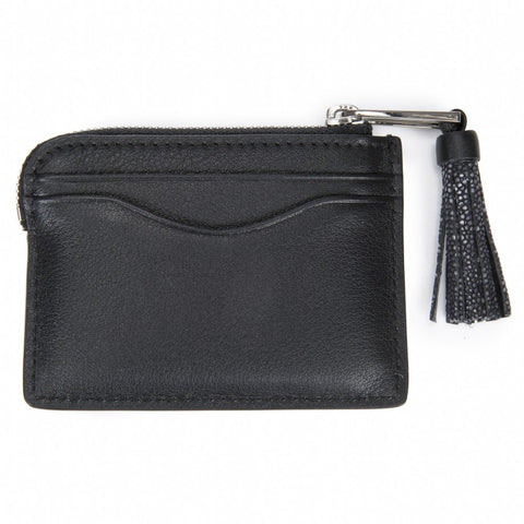 AVERY, Card Pouch, Black