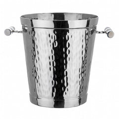 Hammered Stainless Steel Wine Bucket
