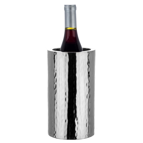 Hammered Stainless Double Wall Wine Cooler