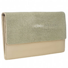 BEA Envelope Wallet-Cloud/Celadon