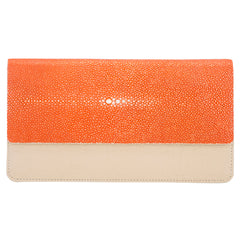 BEA Envelope Wallet-Cloud/Salmon