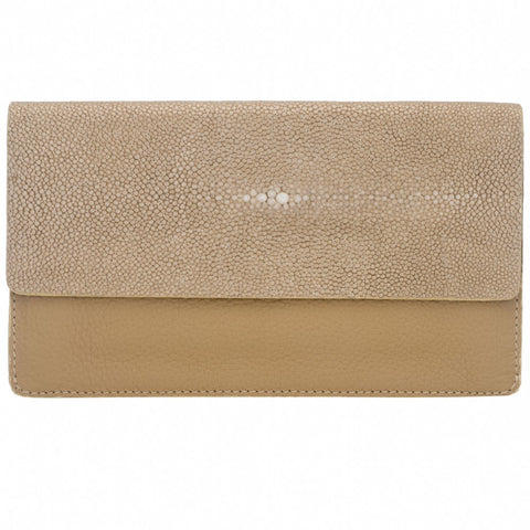BEA Wallet-Tan/Putty