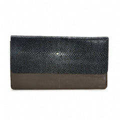 BEA Envelope Wallet-Stone/Black