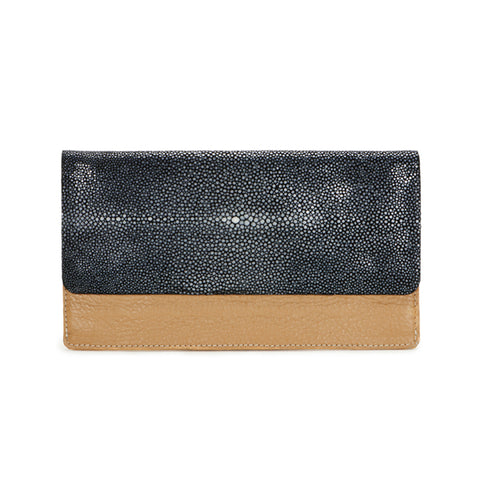 BEA Wallet-Tan/Black