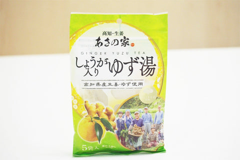 Ginger Yuzu Tea fr Kochi Prefecture / 生姜柚子湯