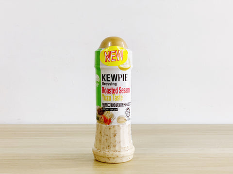 [NEW] Kewpie Roasted Sesame Yuzu Dressing / 胡麻柚子ドレッシング