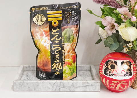 Mizkan Tonkotsu Shoyu Nabe Soup Base / Pork Bone Rich Shoyu Soup Base