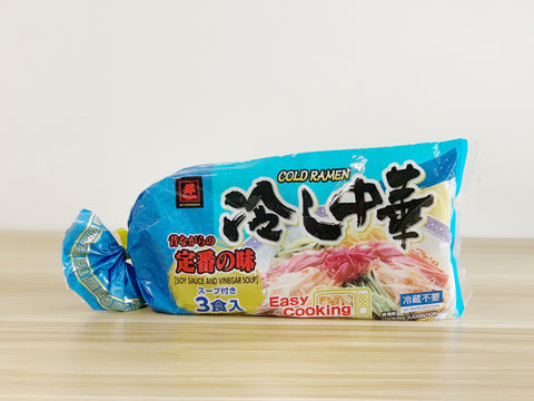 Miyakoichi Hiyashi Chuka (Cold Ramen with soup)