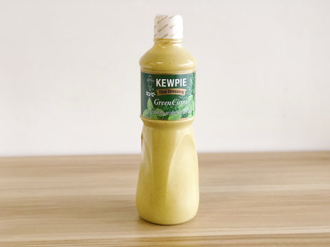 [ZAIRYO Exclusive] Kewpie Green Curry Dressing