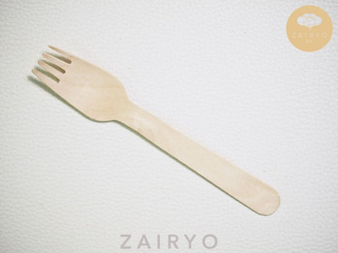Biodegradable Disposable Wooden Fork
