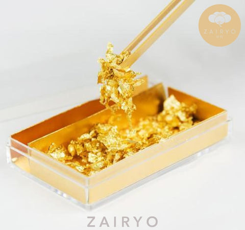 Edible Gold Leaf Flakes 25G Box / 食用金箔