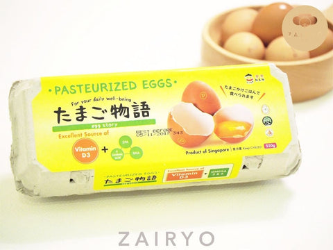 Egg Story Pasteurized Eggs with Vitamin D3 And Omega 3 & 6 (10s)