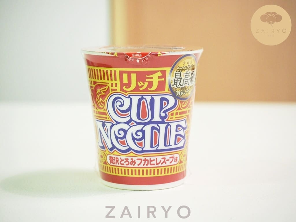 [Exclusive Import] Nissin Cup Noodles Luxury Edition - Sharks Fin Flavour - Noodles