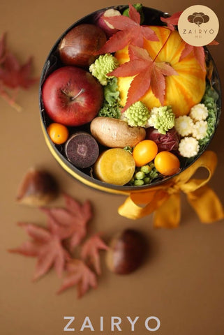 [Exclusive Import] Seasonal Vegetable & Fruit Gift Box