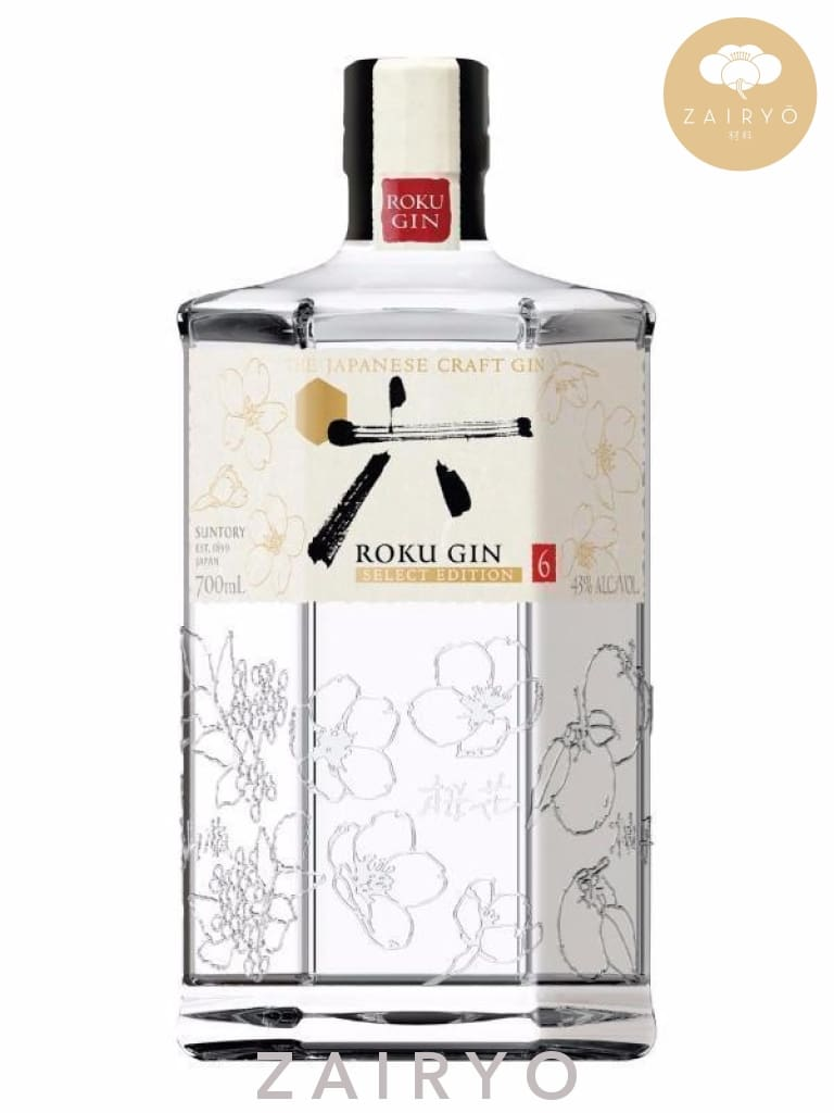 [Exclusive Launch] Suntory Roku Gin - Alcohol