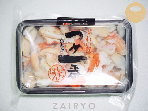 Fresh Handpicked Zuwai Kani Chunks / ずわい蟹 / Snow Crab Tsuya Ichiban