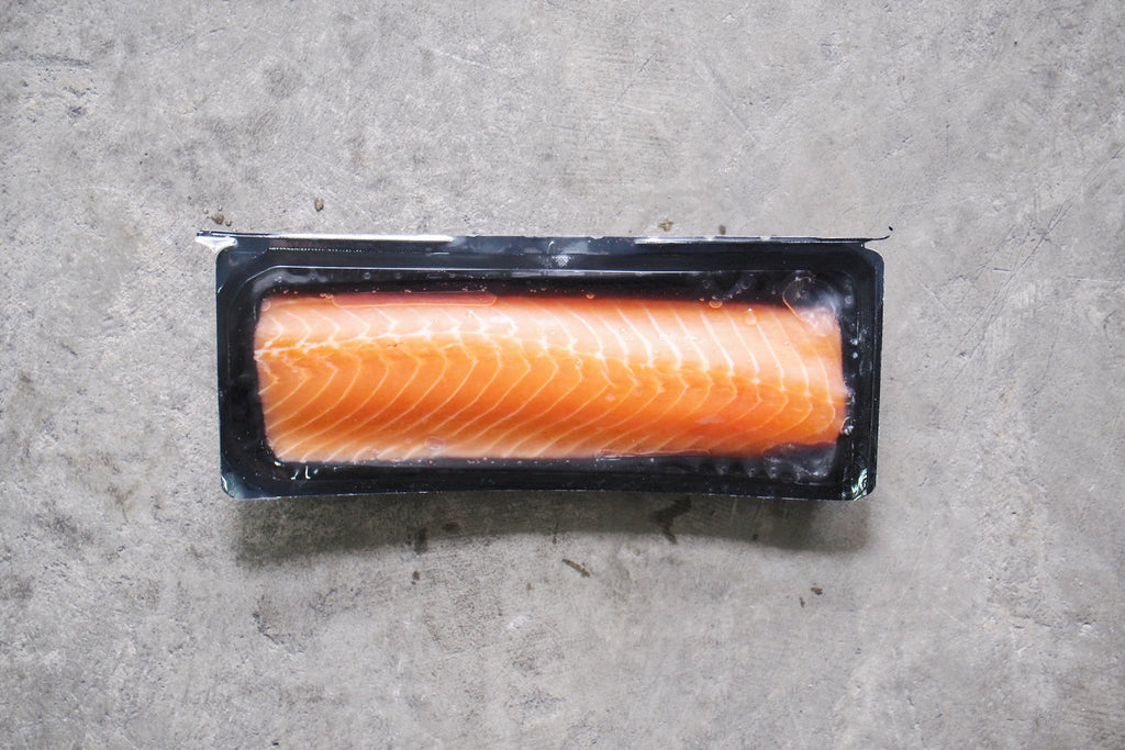 Norwegian Fresh Skinless & Boneless Sashimi-grade Salmon