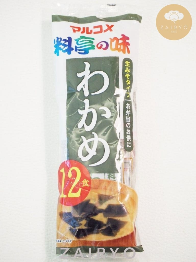 Marukome Instant Miso Soup (With Seaweed) / Miso Soup Packs - Sauce