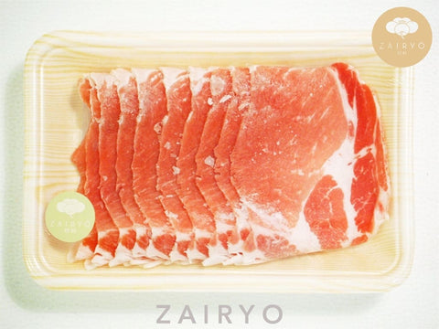 Momoiro Pork Collar Shabu Shabu Slices / ももいろ豚しゃぶしゃぶ