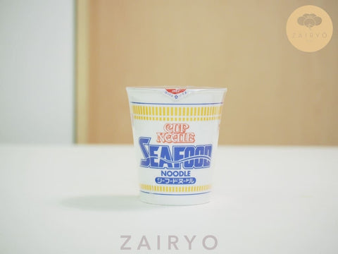Nissin Cup Noodles - Seafood flavour, normal size (Japan Import)