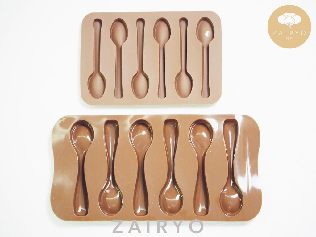 Silicone Spoon Mould (In 2 Sizes) - Tableware