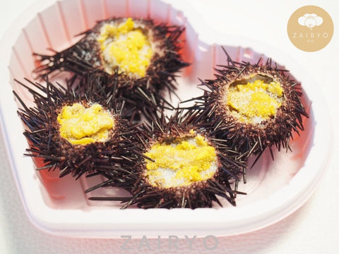 Steamed Uni in Shell / 蒸しうに