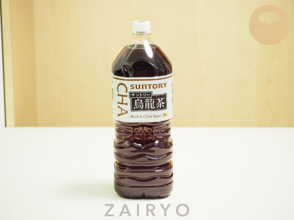 Suntory Oolong Cha 2L (Unsweetened Oolong Tea) - Snacks
