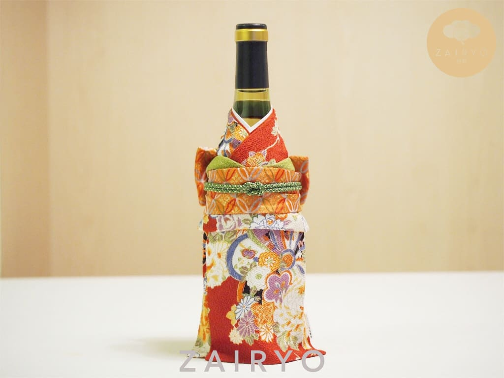 [Zairyo Exclusive] Kimono Bottle Wear - Tableware